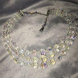 Jewelry - Gorgeous aurora borealis. Vintage necklace